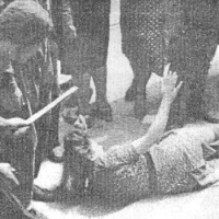 Погромы во Львове в 1941 году.  Фотохроника. 18+