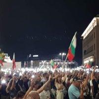 Сотни тысяч в Софии на многодневной акции протеста!
